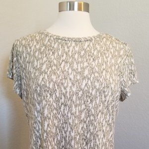 Liz Claiborne Short Sleeve Tee Shirt Top Blouse